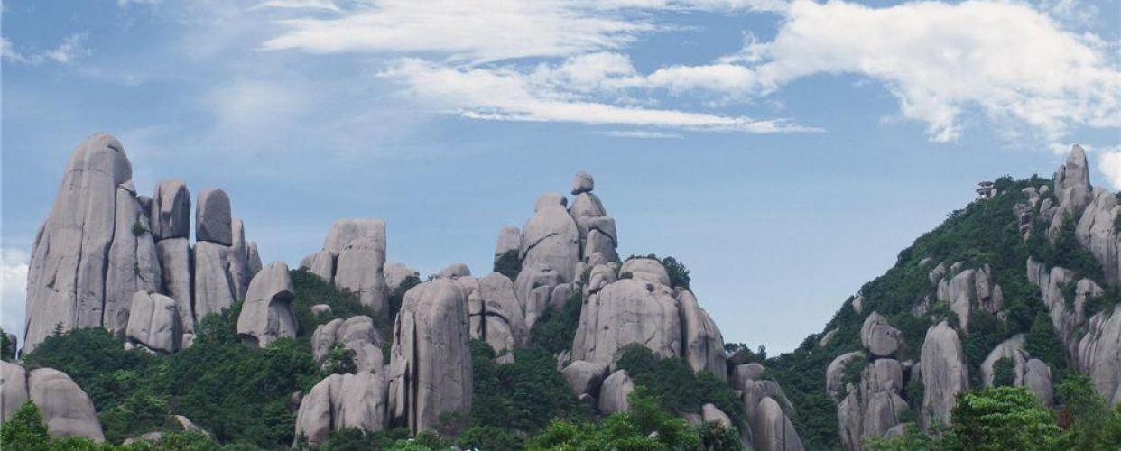 太姥山国家地质公园位于福建省福鼎市境内,距市区45公里.风景